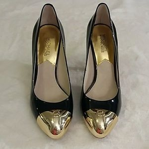 Michael Kors patent leather pumps